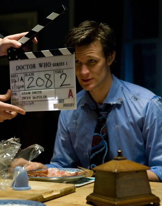 Doctor Who: Matt Smith sul set della stagione 5