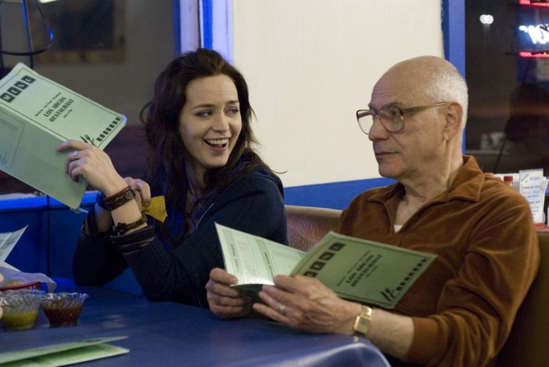 Emily Blunt e Alan Arkin in un'immagine del film Sunshine Cleaning