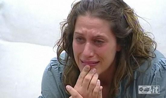 Grande Fratello 10, Cristina Pignataro in lacrime