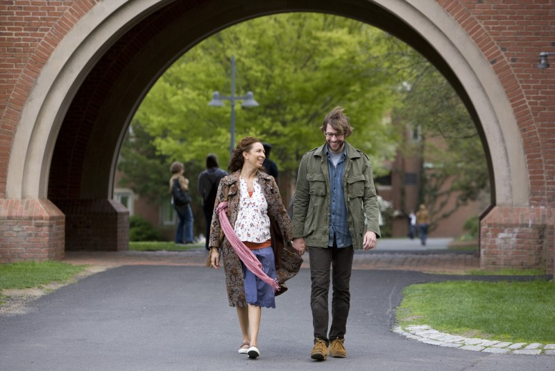 John Krasinski e Maya Rudolph, protagonisti del film Away We Go