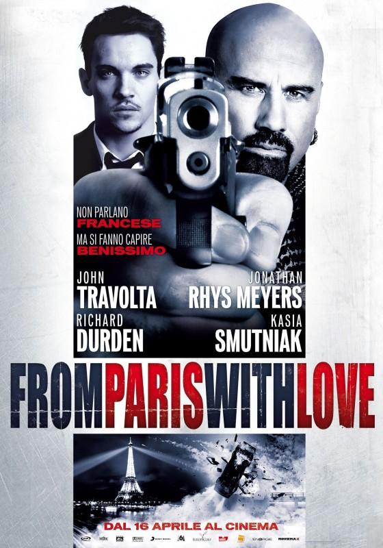 Locandina italiana di From Paris With Love