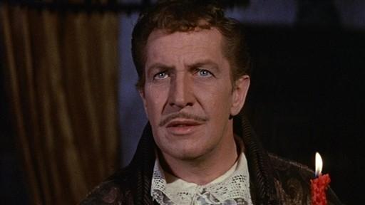 Vincent Price in una scena del film Il pozzo e il pendolo, del 1961