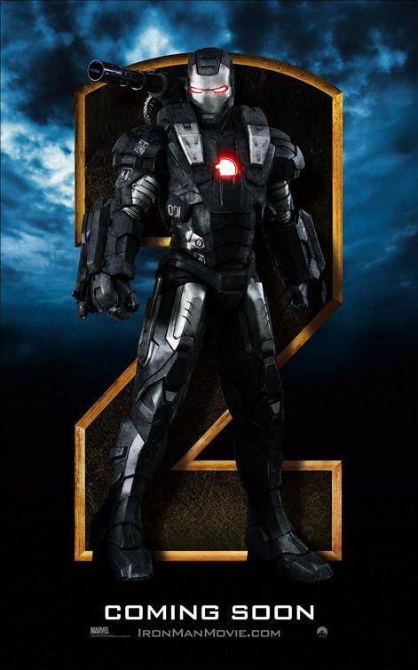 Character poster (2) per Iron Man 2