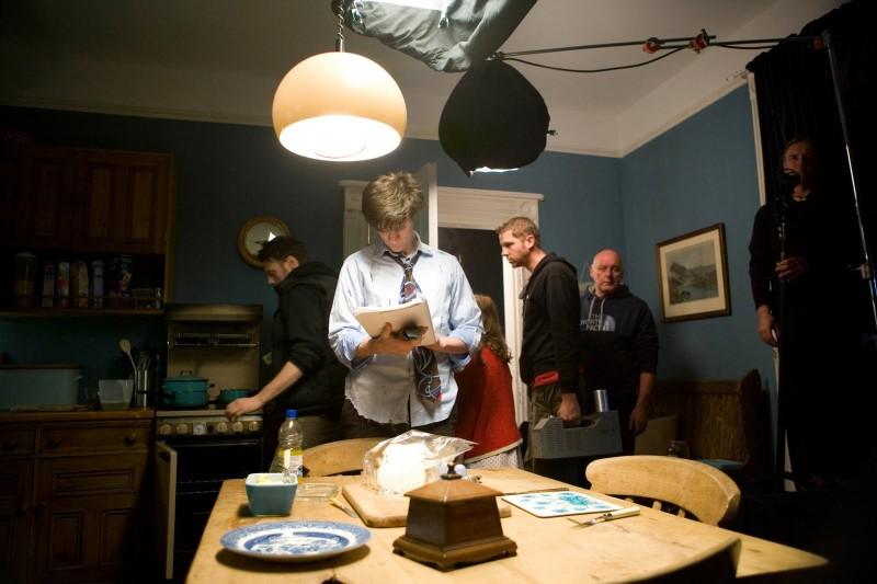 Doctor Who: Matt Smith sul set dell'episodio The Eleventh Hour