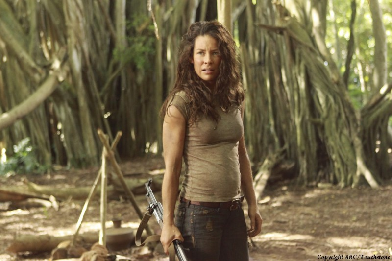 Evangeline Lilly nell'episodio Recon di Lost