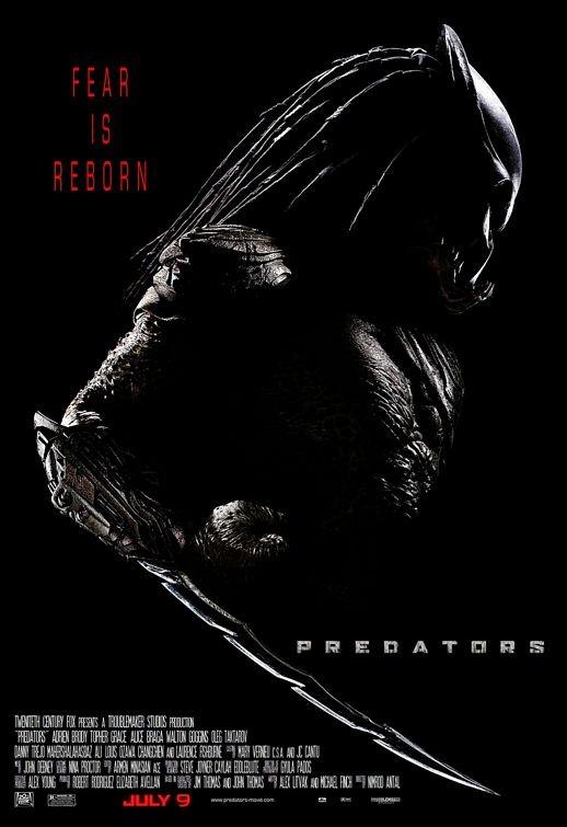 La locandina di Predators