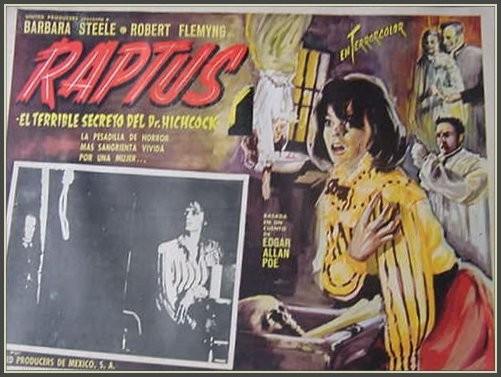 Lobby card promozionale del film L\'orribile segreto del dottor Hichcock