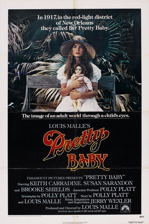 Locandina del film Pretty baby (1978)
