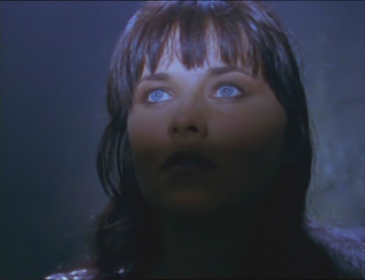 Lucy Lawless in Xena, episodio Beware Greeks bearing gifts
