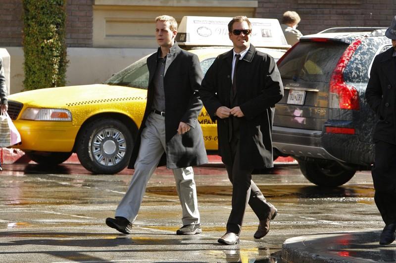 Sean Murray e Michael Weatherly nell'episodio Double Identity di Navy NCIS