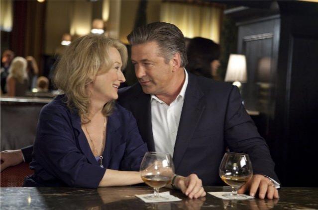 Alec Baldwin e Meryl Streep, nei panni di una coppia non tanto scoppiata nel film E' complicato
