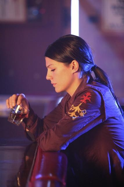 Genevieve Cortese nell'episodio Blowback di FlashForward