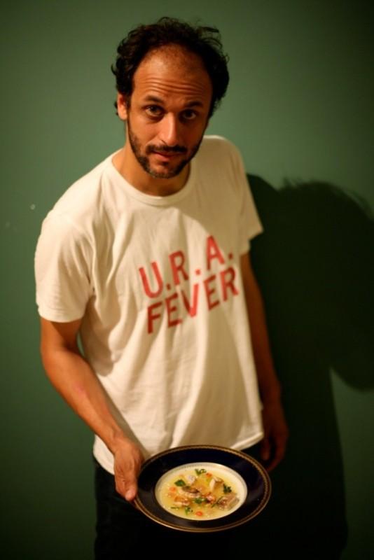 Il regista Luca Guadagnino in una foto promozionale del film Io sono l'amore