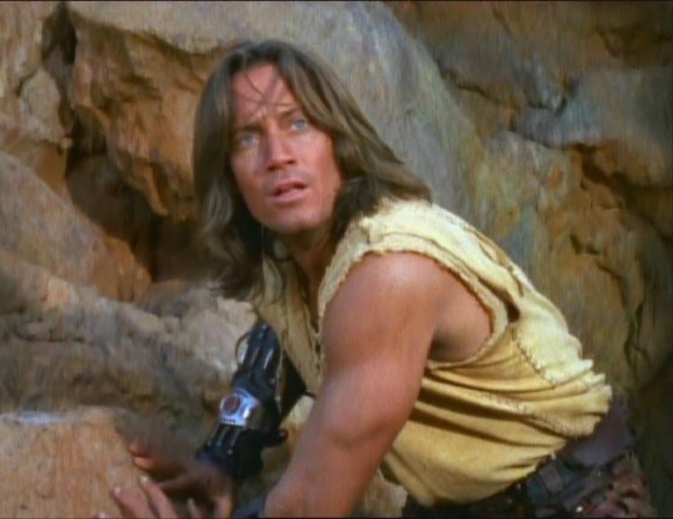 Kevin Sorbo in Prometheus, episodio di Xena