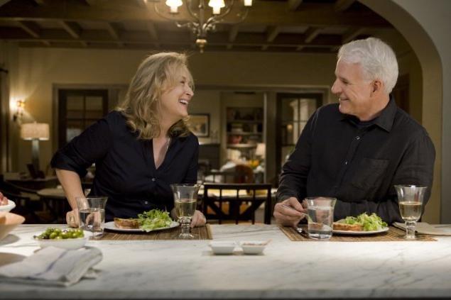 Meryl Streep e Steve Martin, radiosi interpreti del film E' complicato