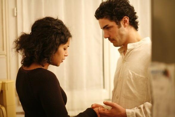 Tahar Rahim e Leïla Bekhti in un'immagine del film Il profeta
