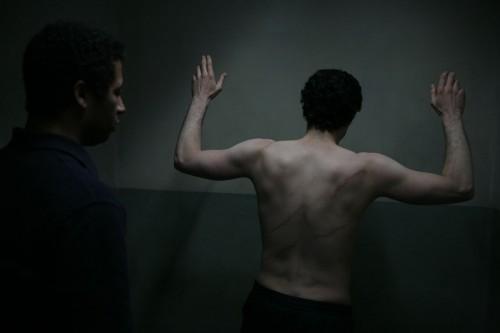 Tahar Rahim in un'immagine dura dal film Il profeta (2009)