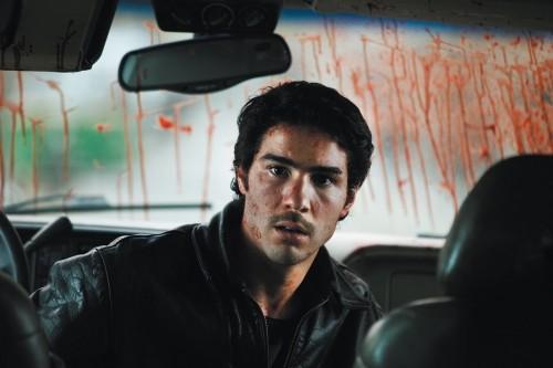 Tahar Rahim in un'immagine pulp del film Il profeta (2009)