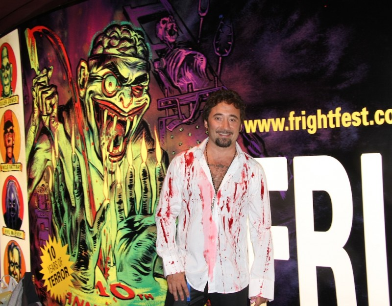 Il regista Federico Zampaglione presenta il suo film Shadow al Frightfest di Londra