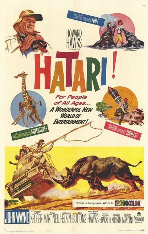 La locandina di Hatari!
