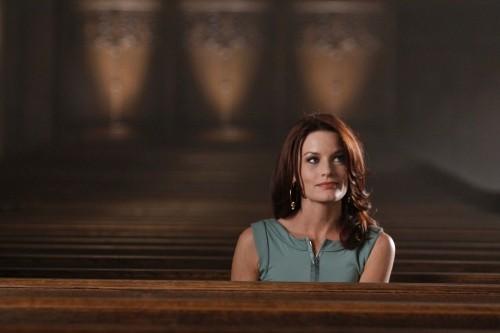 Laura Leighton nell'episodio San Vicente di Melrose Place