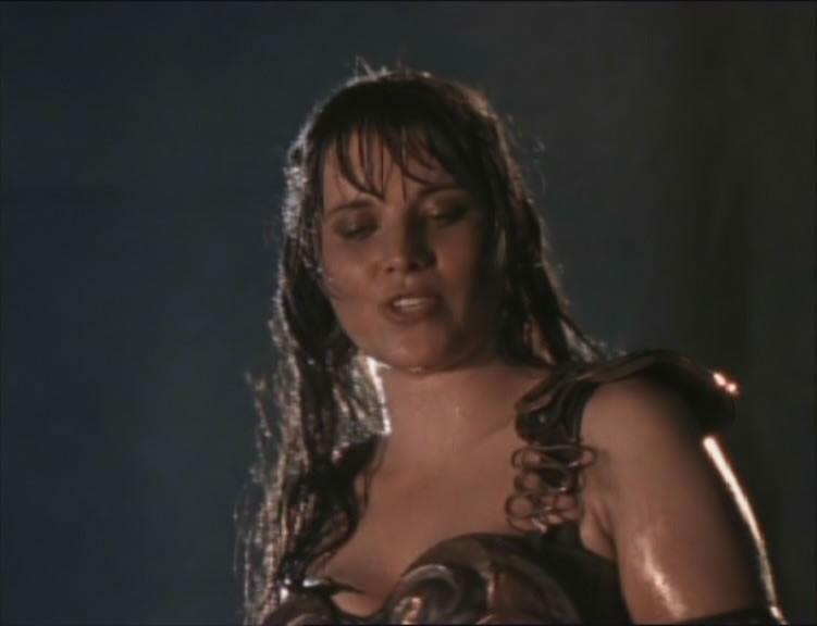 Lucy Lawless in The Black wolf, episodio di Xena