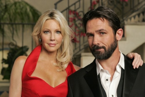 Melrose Place: Heather Locklear e Billy Campbell nell'episodio Stoner Canyon