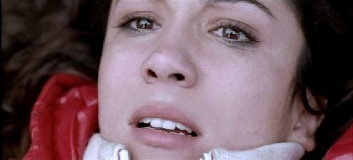 Un dettaglio di Karina Testa dal film horror Shadow