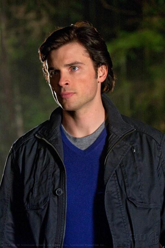 Clark Kent (Tom Welling) in un'immagine dell'episodio Escape di Smallville