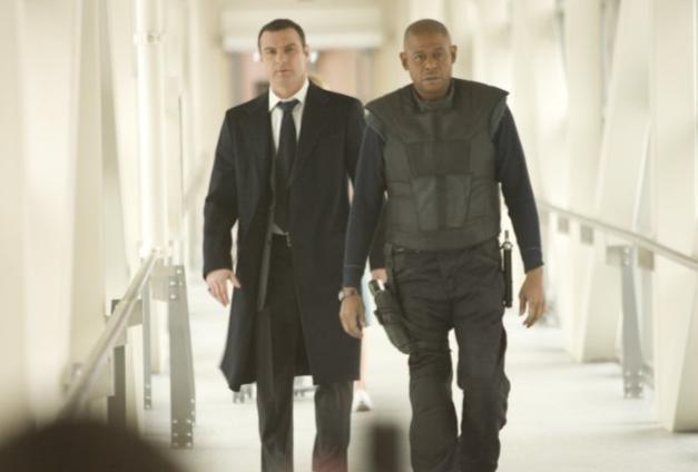 Liev Schreiber e Forest Whitaker in una scena del film Repo Men