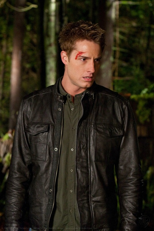 Oliver Queen (Justin Hartley) in una sequenza dell'episodio Escape di Smallville