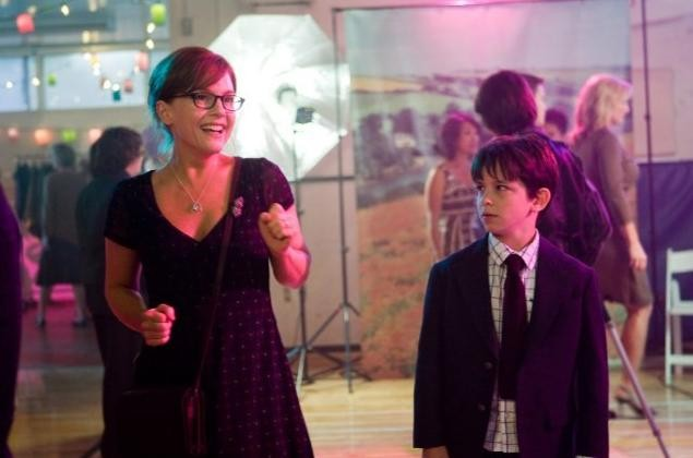 Rachael Harris e Zachary Gordon in Diary of a Wimpy Kid