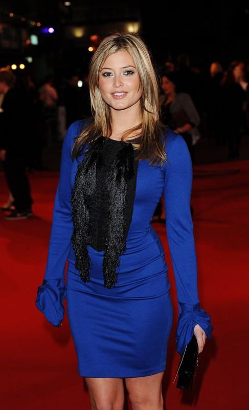 Holly Valance alla premiere del film Remember Me, a Londra, il 17 marzo 2010