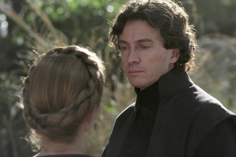 Amanda Sandrelli e Alessio Boni in una sequenza del film Christine Cristina