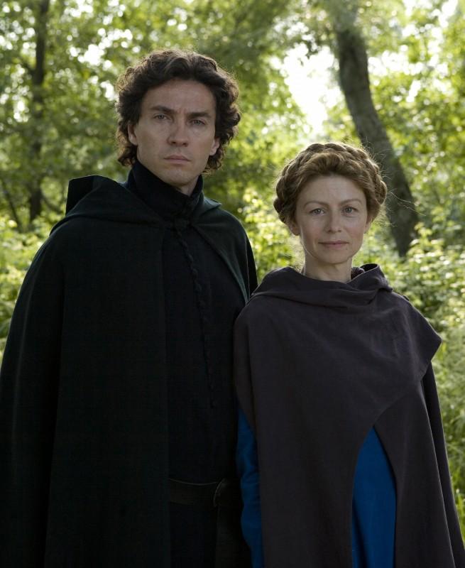 Amanda Sandrelli e Alessio Boni, protagonisti del film Christine Cristina