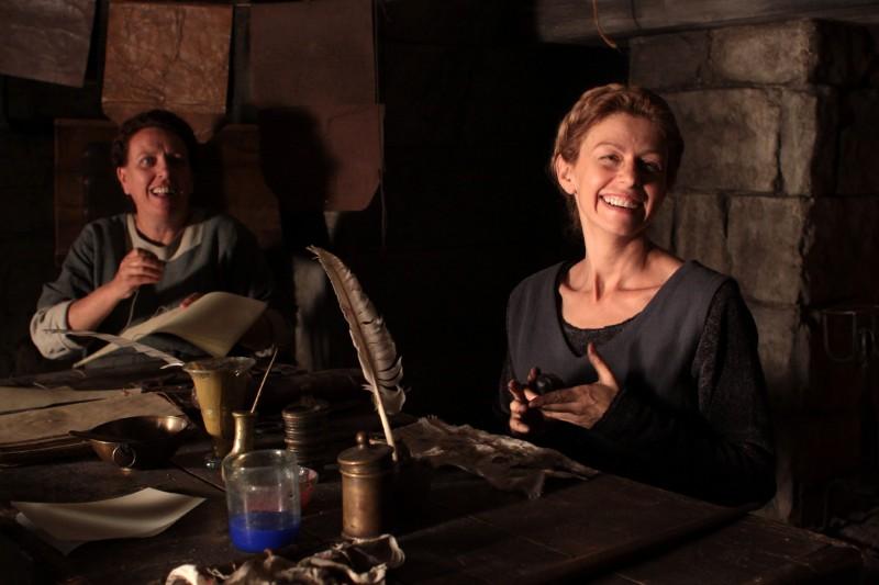 Amanda Sandrelli e Paola Tiziana Cruciani in un'immagine del film Christine Cristina