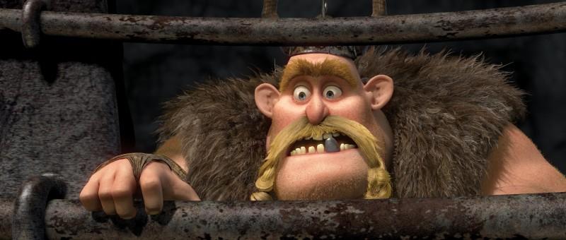Gobber in un'immagine del film Dragon Trainer