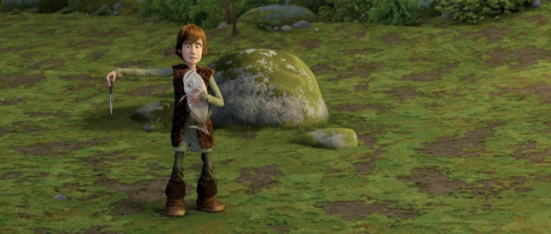 Hiccup, un Vichingo poco temibile, protagonista del film Dragon Trainer