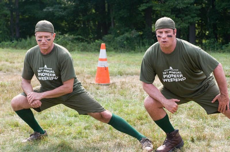 John Travolta e Robin Williams si allenano nella commedia Daddy Sitter