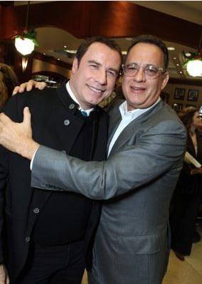 John Travolta e Tom Hanks alla Premiere internazionale del film Daddy Sitter