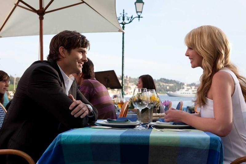 La coppia protagonista: Spencer (Ashton Kutcher) e Jen (Katherine Heigl) nel film Killers