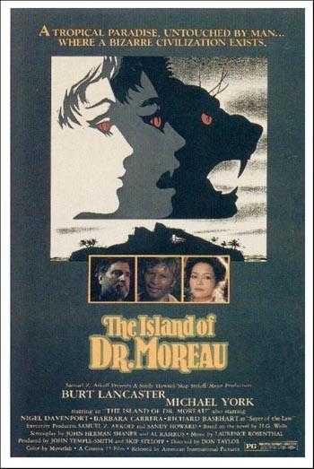 La locandina di L'isola del Dottor Moreau