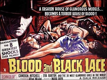 Lobby card promozionale americana del film Sei donne per l\'assassino