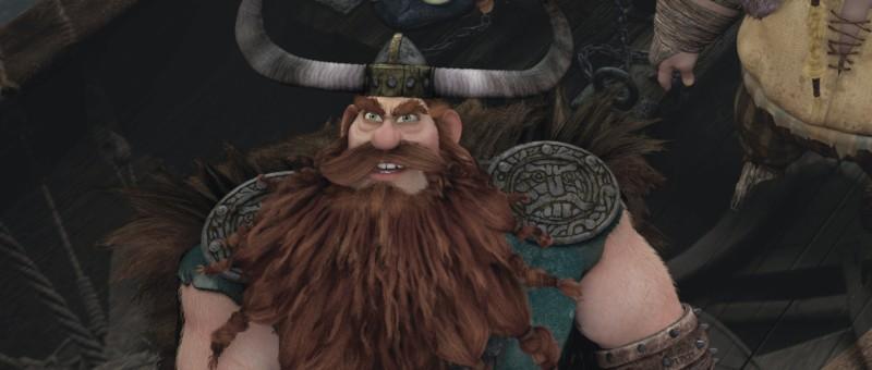 Stoick in un'immagine di Dragon Trainer