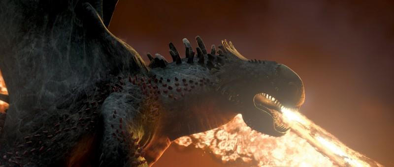 Un'immagine del drago di Dragon Trainer