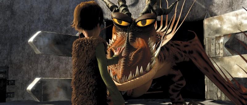 Un'immagine del film 3D Dragon Trainer