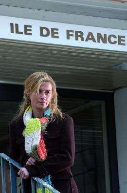 Anne Consigny in una scena del film La première étoile