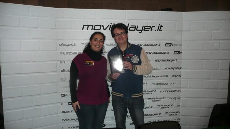Fantasy Horror Award 2010: Claudio Simonetti fa visita allo stand di Movieplayer.it