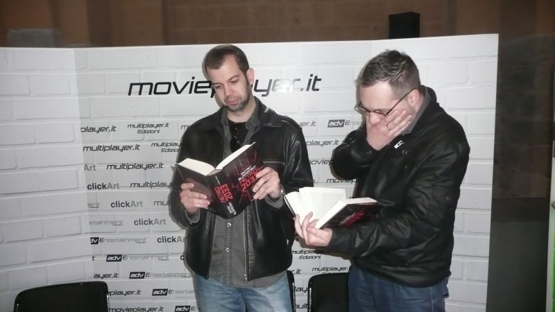 Fantasy Horror Award 2010: il regista Milan Todorovic fa visita allo stand di Movieplayer.