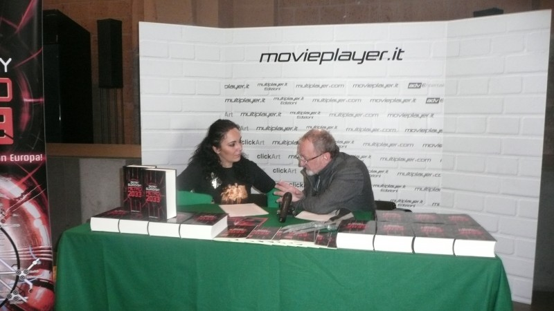 Fantasy Horror Award 2010: Robert Englund durante l'intervista di Movieplayer.it